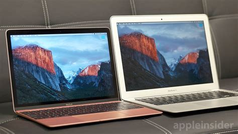 Mac Air 13 apple 12 quot retina macbook vs 13 quot macbook air