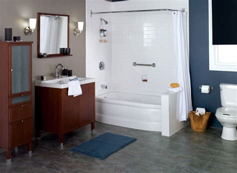 bathroom in the kitchen home decor small corner tub shower combo freestanding