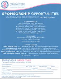 Charity Golf Tournament Sponsorship Letter Template Convention Spotlight William Raveis Breast Cancer