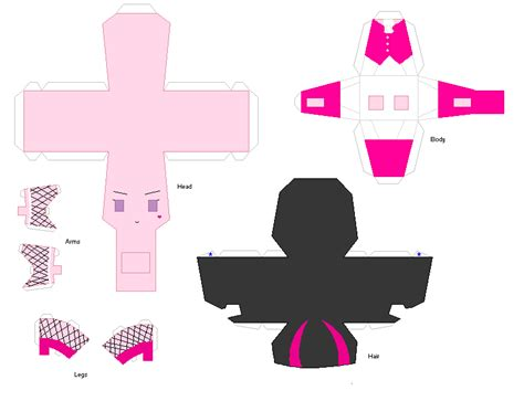 Papercraft Dolls - paper crafts draculaura by kpendragon on deviantart