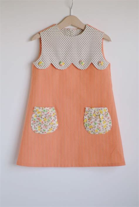 pattern from existing clothes sweetest dress with scallop floral pockets diy for an