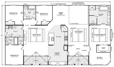 triple section manufactured homes triple wide mobile homes factory expo home centers
