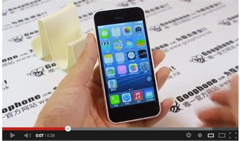 I5c goophone i5c clone android dell iphone 5c