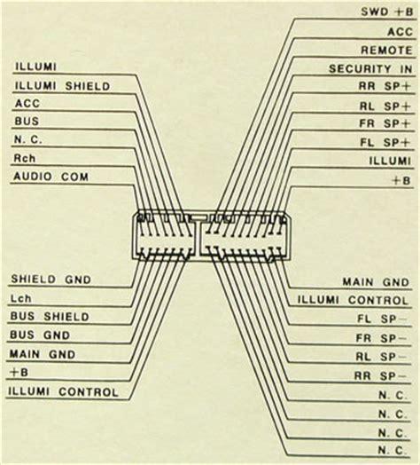 honda tm  cd pinout diagram  pinoutguidecom