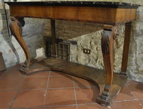 console antiche consolle antica negozio antiquariato a san gimignano