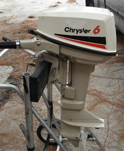 6 hp chrysler outboard boat motor