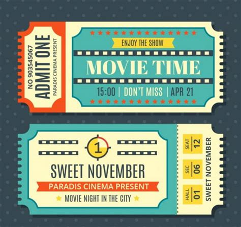 show ticket template 9 vintage ticket templates free psd ai vector eps