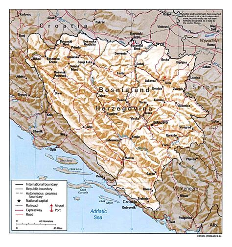 map of bosnia bosnia maps perry casta 241 eda map collection ut library