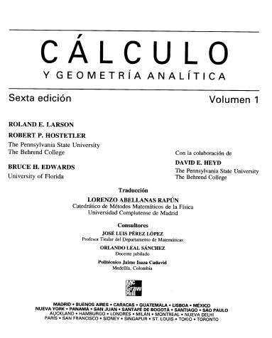 geometria analitica y calculo diferencial e integral e books chemical engineering colombia calculus e books