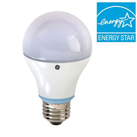 led light bulb equivalent to 60w ge 60w equivalent reveal a19 led light bulb 2 pack