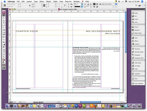 layout view indesign 8 best images of indesign cookbook template cookbook