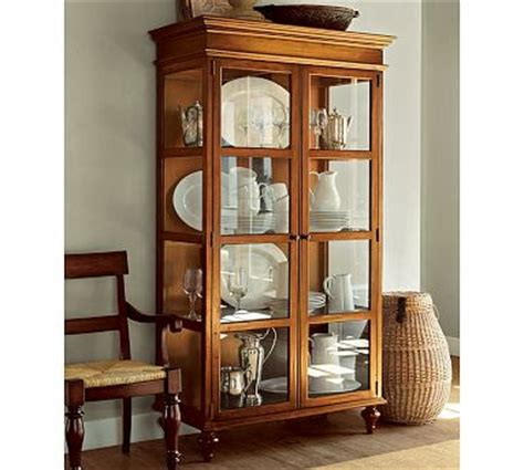 pottery barn china cabinet and home how i would design my house