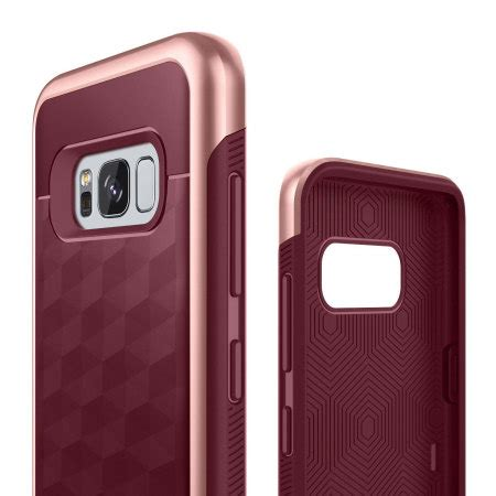 Caseology Parallax Series For Samsung Galaxy S8 Plus Original caseology parallax series samsung galaxy s8 plus burgundy