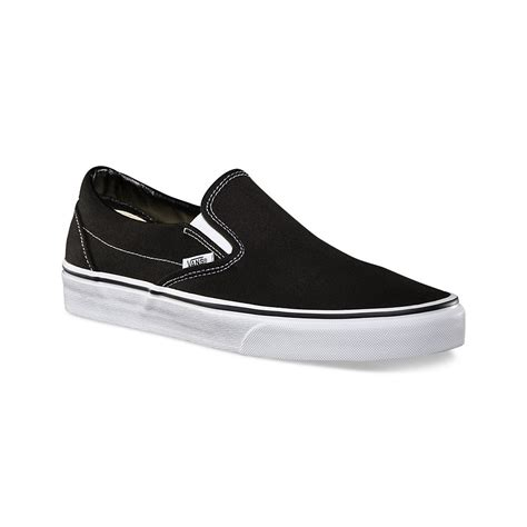 Sneakers Vans Authentic All Black Classic Canvas New Authentic Vans Slip On Shoes Classic Black White