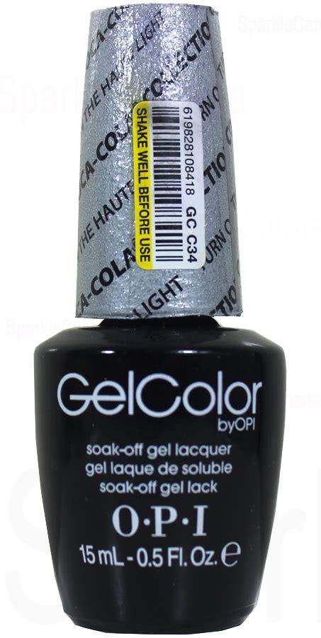 opi gel color turn on the haulte light by opi gel color