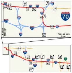 map of i 70 colorado interstate 70 in missouri