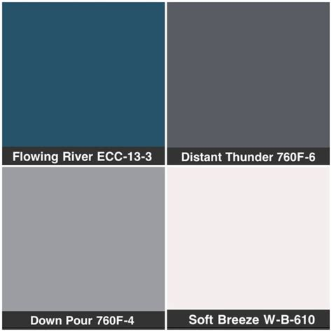 behr color pallete blue for the home