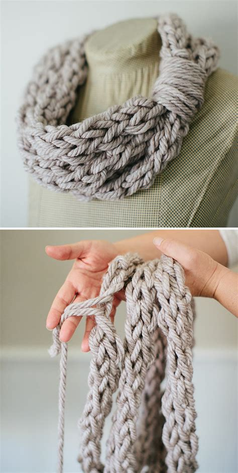 knit finger arm knitting and finger knitting patterns in the loop
