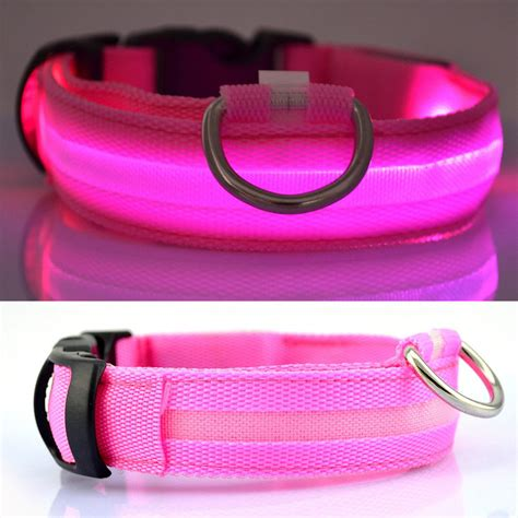 light up collar amazon usb rechargeable led collar light up