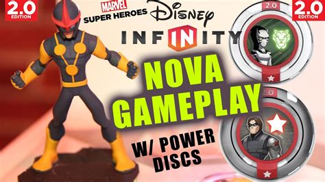 disney infinity nova iron fist gameplay winter