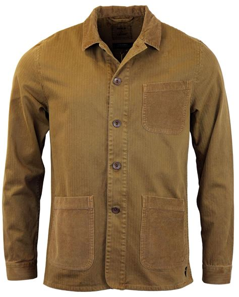 Atasan Jaket realm empire bacton retro mod artisna jacket biscuit