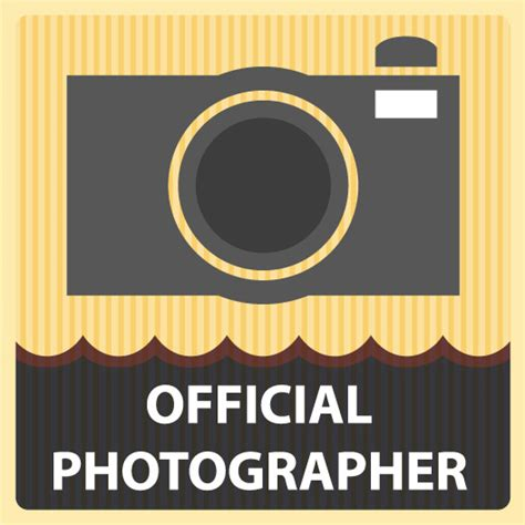 Sticker Stiker Photography official photographer vinyl stickers just stickers
