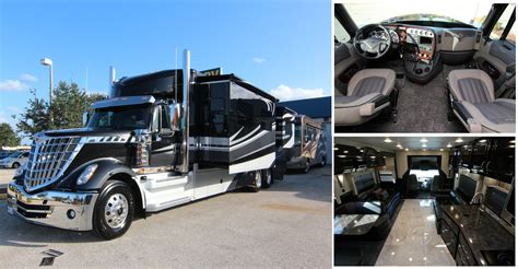 luxury motor coaches custom toter trucks by powerhouse coach luxury motor