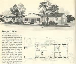 Vintage house plans 1960s ranches and l shaped homes 183 posted on