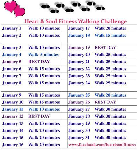 walking challenge january walking challenge join us soul