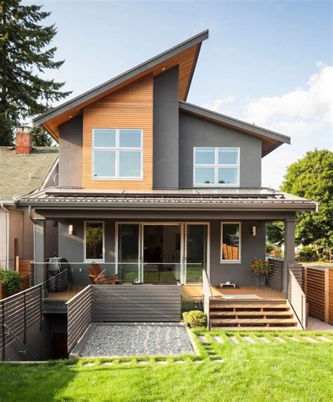 Exterior Home Design Vancouver Architecture Design Modern House Decor Small Home
