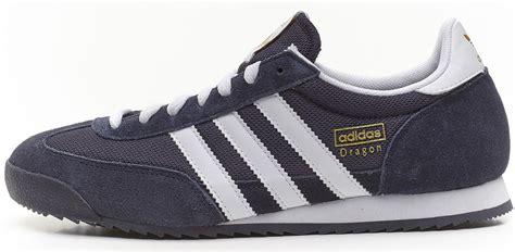 adidas originals retro trainers navy blue white g50919 ebay