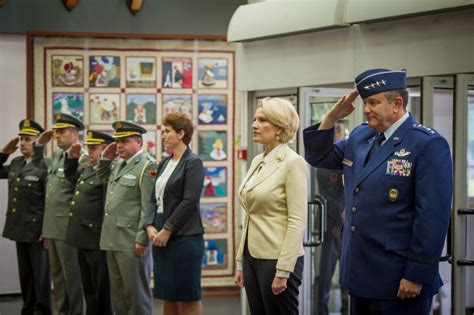 supreme headquarters allied powers europe minister kodheli visit to the supreme headquarters allied