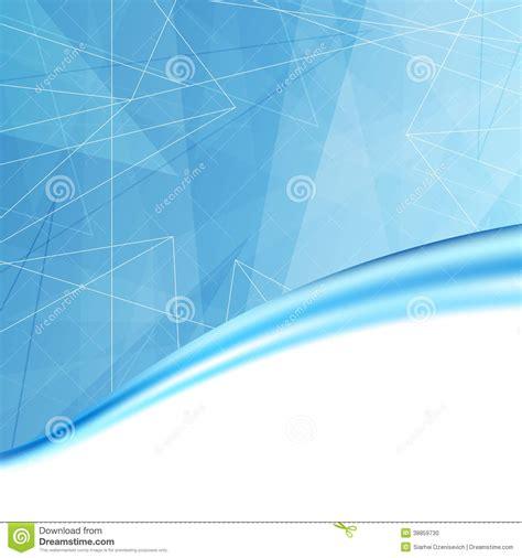 background cover buku modern blue folder cover background template stock vector
