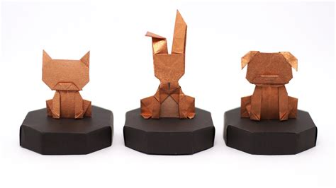 Origami Money Cat - origami money bunny diagrams and jo nakashima