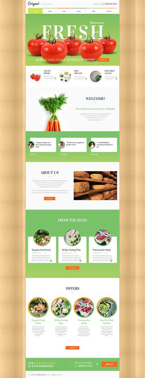 themeforest organic food origano organic food eco farm theme by ancorathemes
