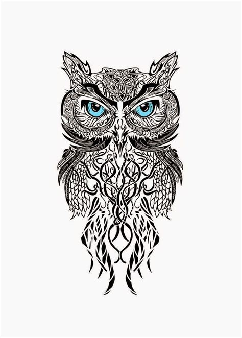 tattoo designs of owls owl design tattoos owl