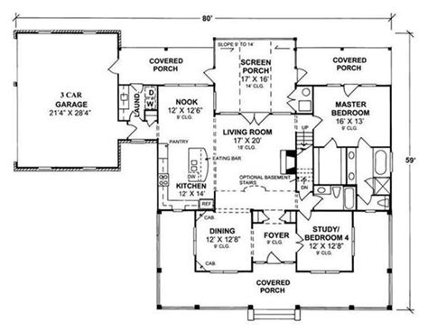 garage addition floor plans screened porch laundry room garage addition main floor plan 364 inspired pinterest house