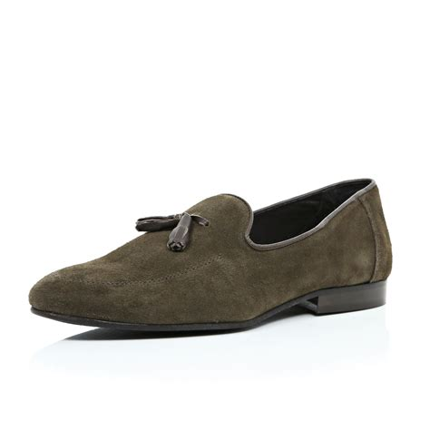 mens brown suede tassel loafers 301 moved permanently