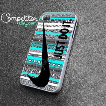 Lmint Nike Just Do It On Carbon Iphone Dan Semua Hp nike just do it on aztec mint pattern from competitoretsy on
