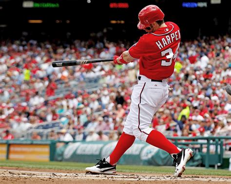 bryce harper swing ain t no use in complainin when you got a job to do