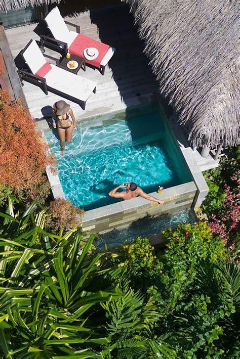 backyard plunge pool best 25 small pools ideas on small backyard