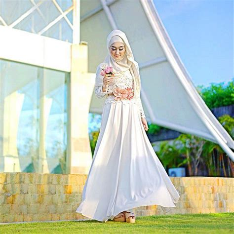 Dress Kekinian 1000 images about happily after on muslim brides muslim wedding dresses and