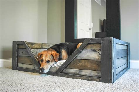 diy  tutorial pallet dog bed  pallets