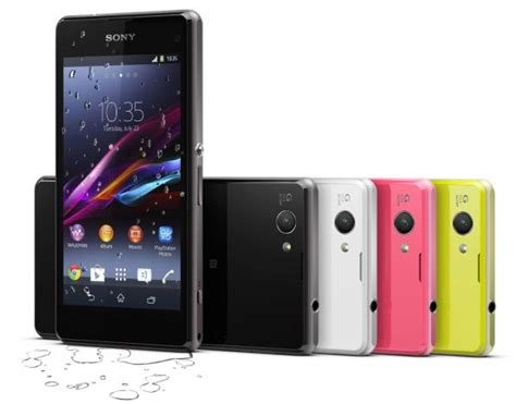 Sony Xperia Z2 Compact sony xperia z2 compact with 4 3 quot display and 2gb ram