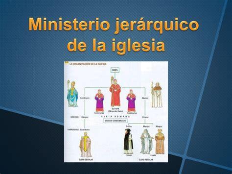 el ministerio de la ministerio jer 225 rquico de la iglesia