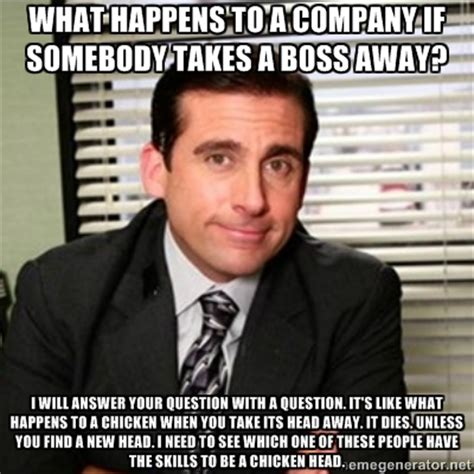 Office Boss Meme - advice from the world s best boss andreabcreative