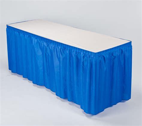 100 polyester kwik skirt kwik covers plastic with elastic