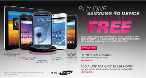 samsung promotions t mobile announces back to school promotions samsung 4g galaxy smartphone sale tmonews