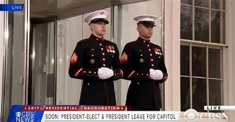 White House Marines by White House Marine Guard Is Suffolk Honors Grad Richard