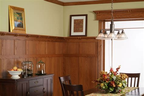 Mission Style Wainscoting by Classic Craftsman Paneling System